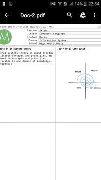 Class Notes apk screenshot