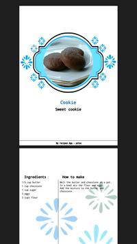 My Recipes screenshot 1