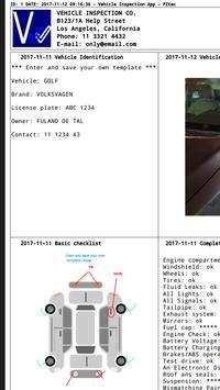 Vehicle Inspection screenshot 4