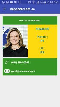 Impeachment Já ! apk screenshot