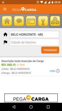 Pega Carga screenshot 2