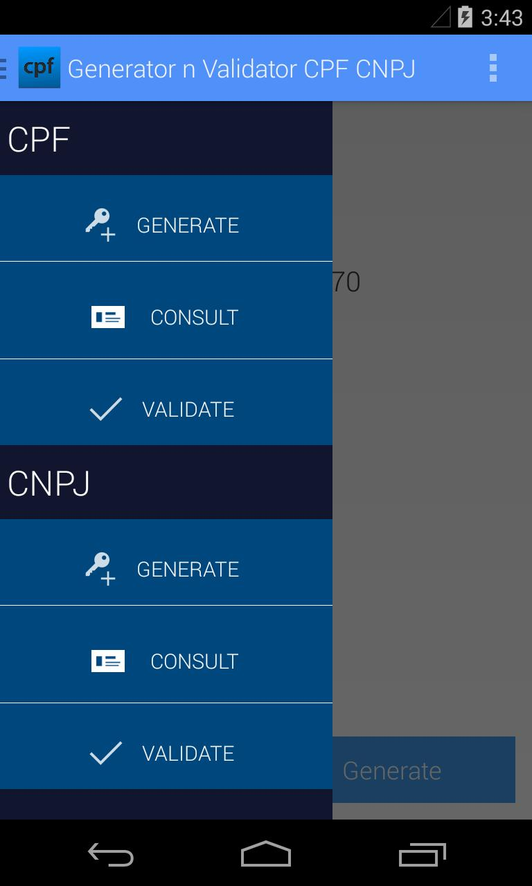 Generator n Validator CPF CNPJ for Android - APK Download