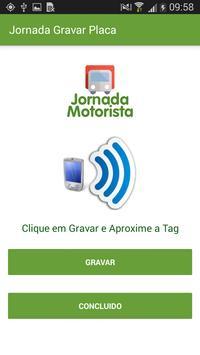 Jornada Motorista Gravar Placa screenshot 1