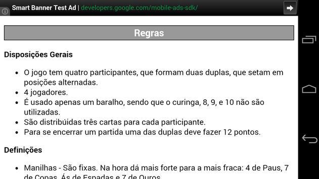 Truco Mineiro Mobile screenshot 4