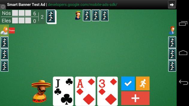 Truco Mineiro Mobile screenshot 2