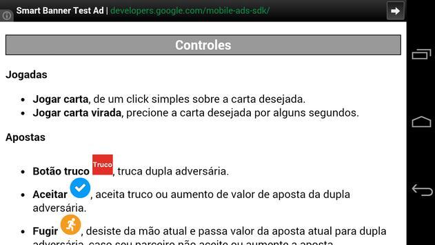 Truco Mineiro Mobile screenshot 3