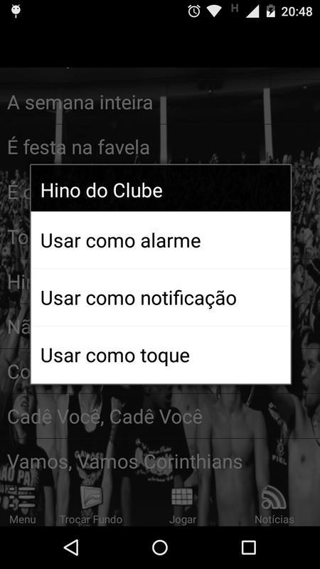 Corinthians-Músicas da Torcida para Android - APK Baixar 43b7c276f9db7