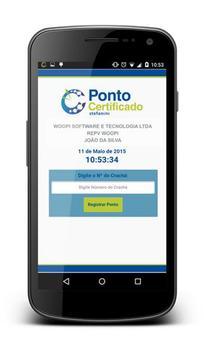 Ponto Certificado Stefanini apk screenshot