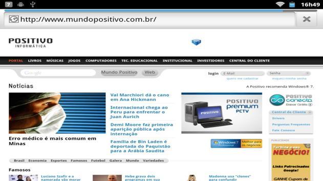 Portal Mundo Positivo poster