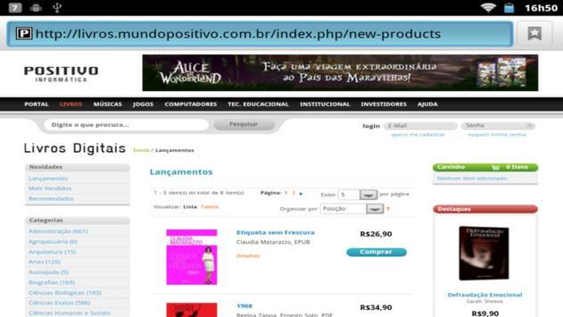Portal Mundo Positivo screenshot 1