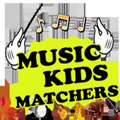 Music Kids Matchers icon
