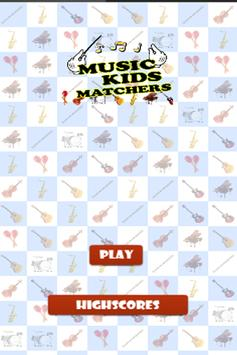 Music Kids Matchers poster