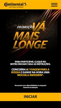 Vá Mais Longe Continental poster