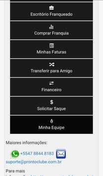 Pronto Clube apk screenshot