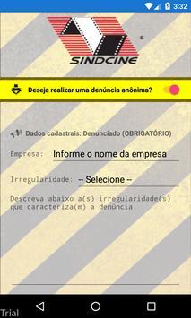 Sindcine Denúncia screenshot 2