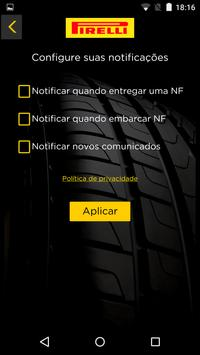 Pirelli LOG screenshot 1