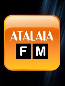 Radio Atalaia 91.5 Foz poster