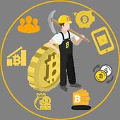 Bitcoin Robot Mining icon
