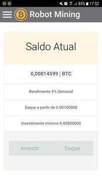 Bitcoin Robot Mining screenshot 1