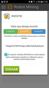 Bitcoin Robot Mining screenshot 2