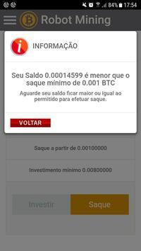 Bitcoin Robot Mining screenshot 3