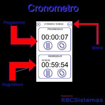 Cronometro apk screenshot
