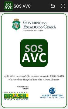 SOS AVC poster