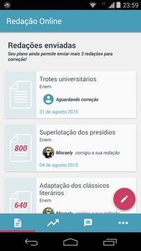Redação Online apk screenshot
