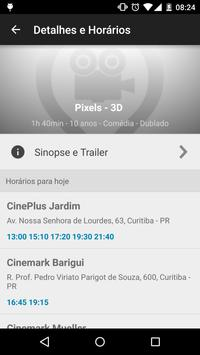 Horário Filmes no Cinema screenshot 2