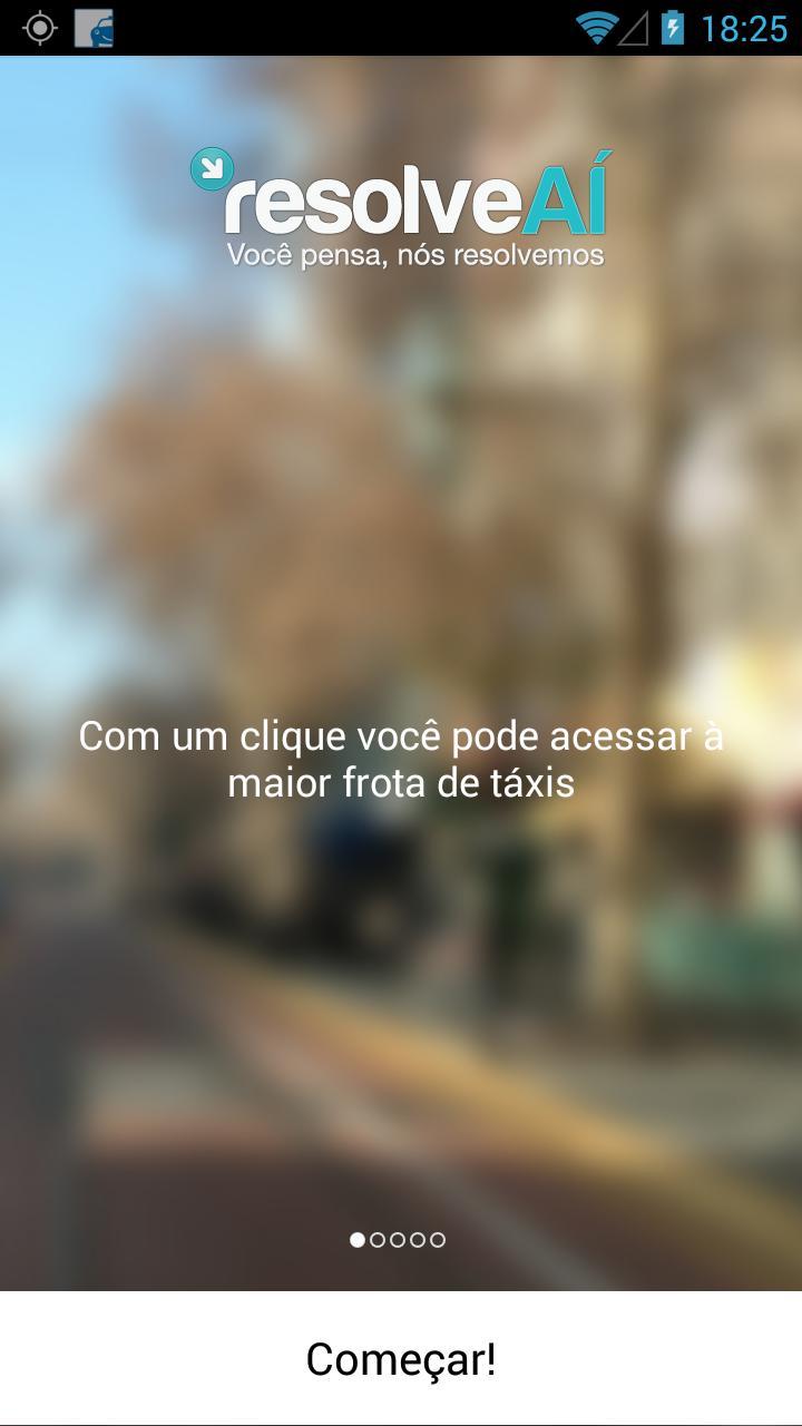 ResolveAÍ Táxi poster