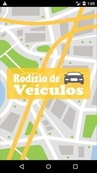 Rodízio de Veículos da Cidade de São Paulo poster