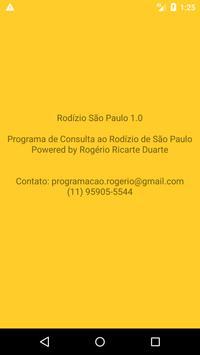 Rodízio de Veículos da Cidade de São Paulo screenshot 5