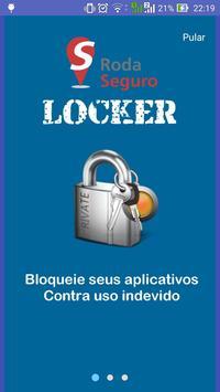 RodaSeguro Locker poster