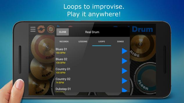 Real Drum - The Best Drum Pads Simulator apk screenshot
