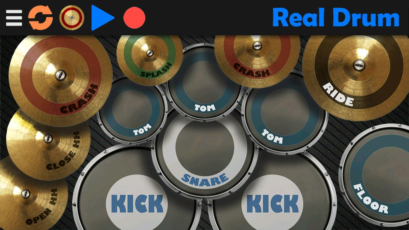Real drum 7. 25 for android download.