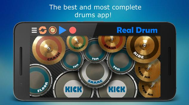 Real Drum - The Best Drum Pads Simulator poster