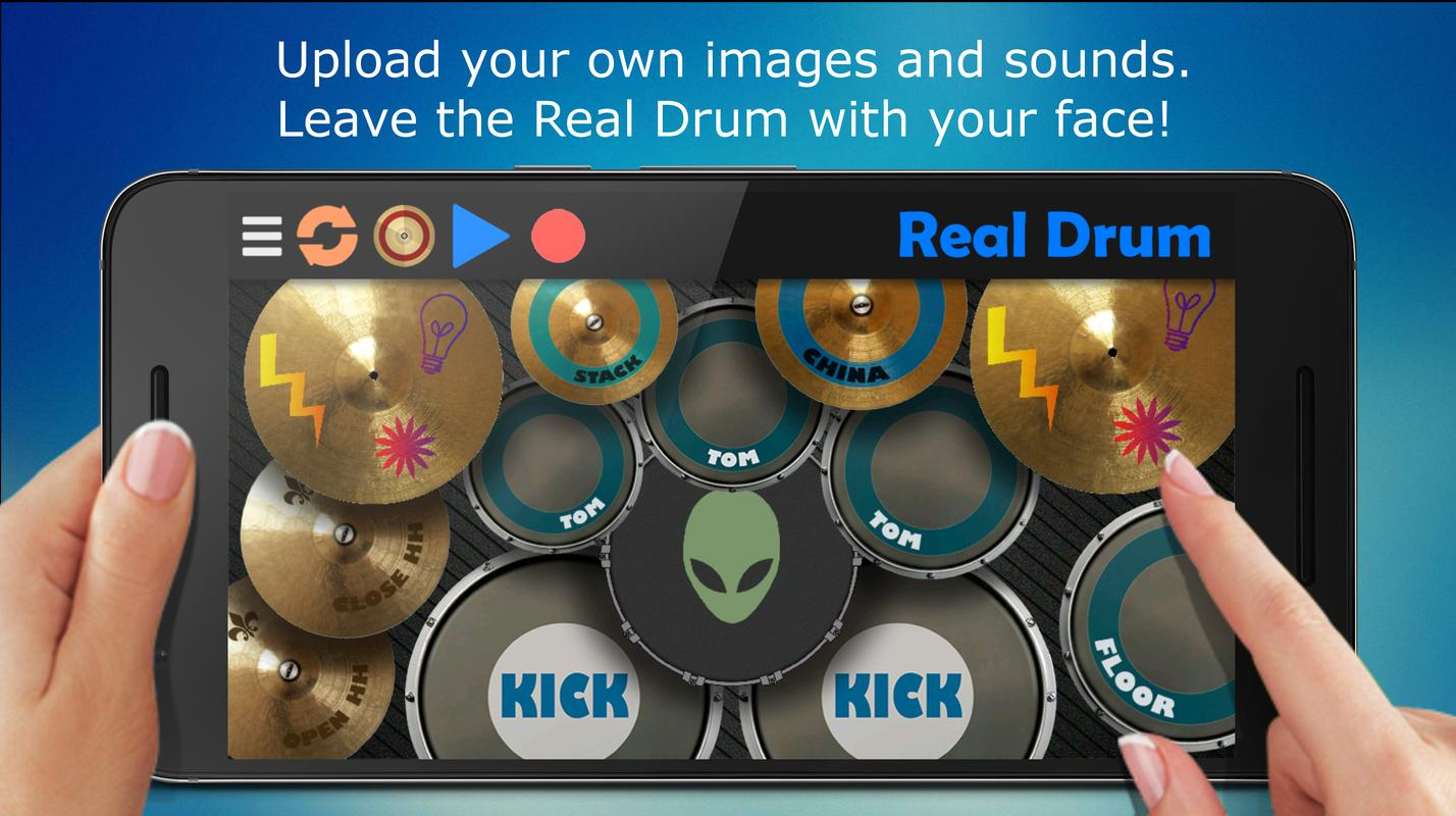 Real drum for android apk download.