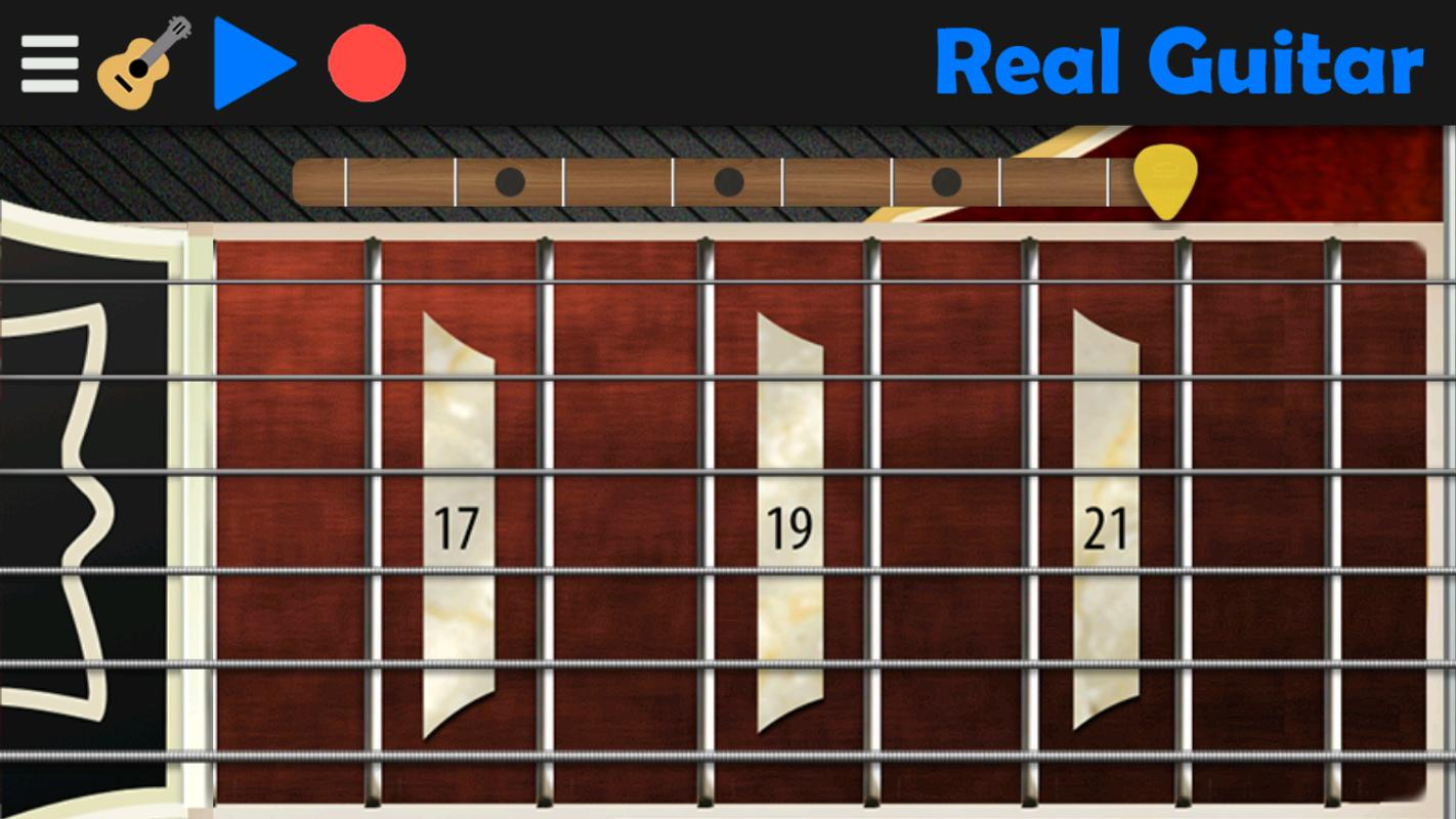 real guitar play guitar never been so easy for android apk download. Black Bedroom Furniture Sets. Home Design Ideas