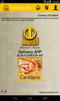 Domenico Pizzaria Delivery apk screenshot