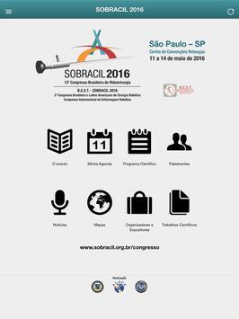SOBRACIL 2016 apk screenshot