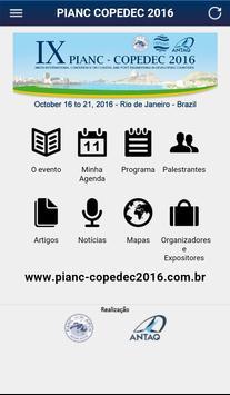 PIANC COPEDEC 2016 screenshot 1