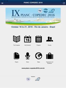 PIANC COPEDEC 2016 screenshot 3