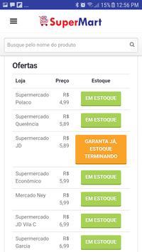 Supermart Supermercados screenshot 2