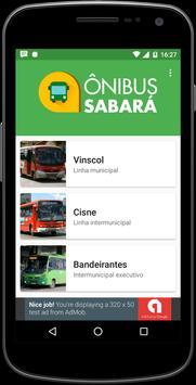 Ônibus Sabará poster