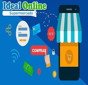 Ideal-Online Supermercado poster