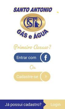 Santo Antônio Gás e Água poster