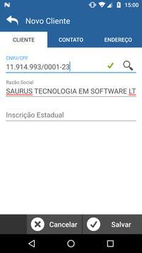 Saurus Pedidos screenshot 1