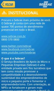 SEBRAE apk screenshot