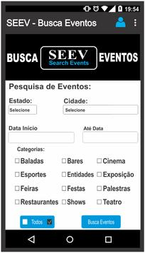 SEEV - Busca Eventos poster