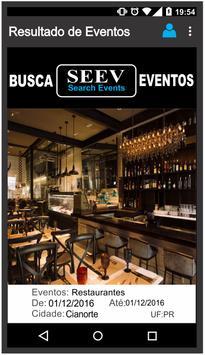 SEEV - Busca Eventos apk screenshot